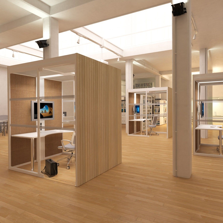 Aspect Mini Pods - Acoustic Workplace Pods - Apres Furniture