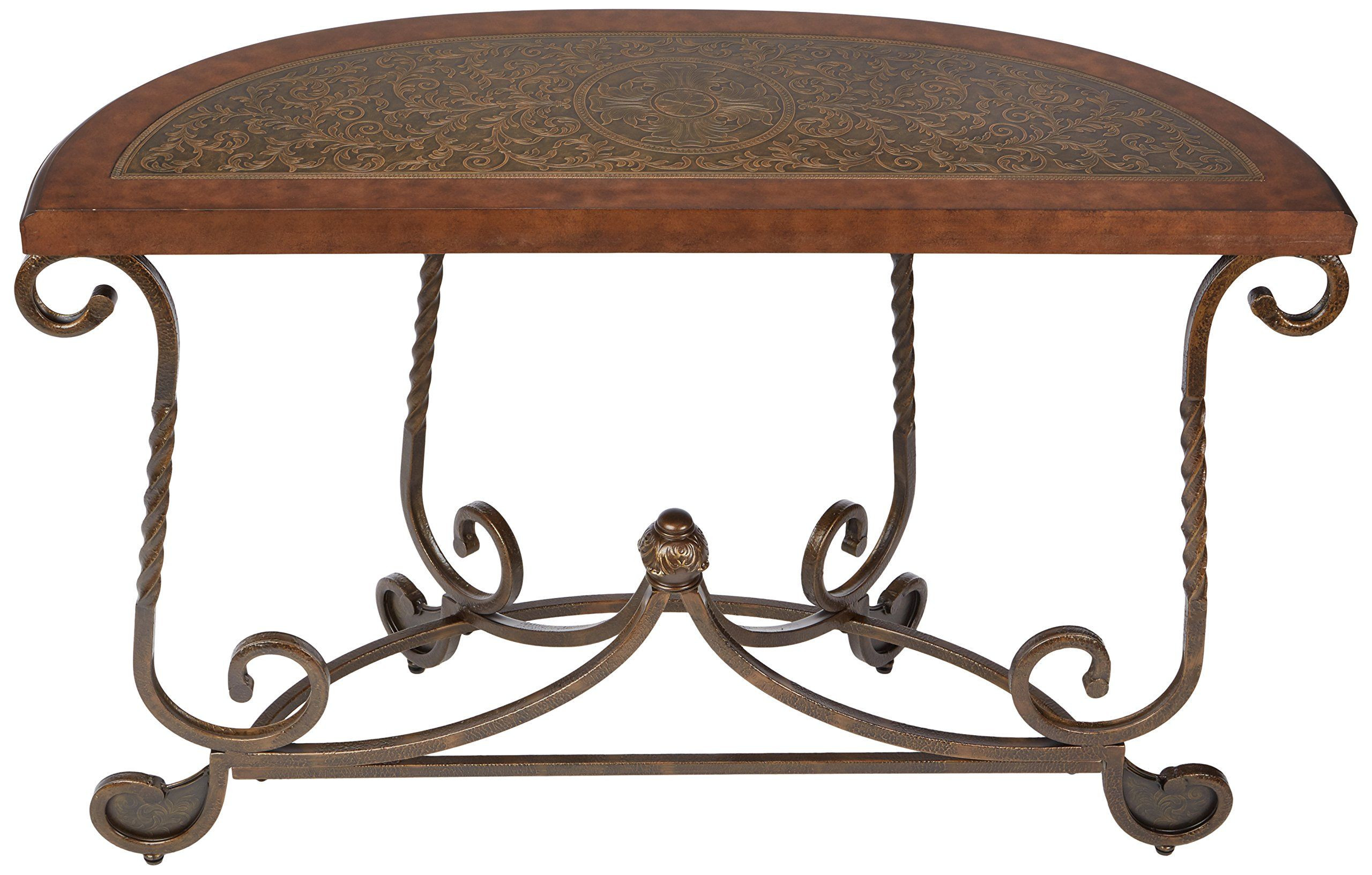 ashley furniture signature design rafferty sofa table traditional rh pinterest com Couch End Tables North Shore Sofa Collection
