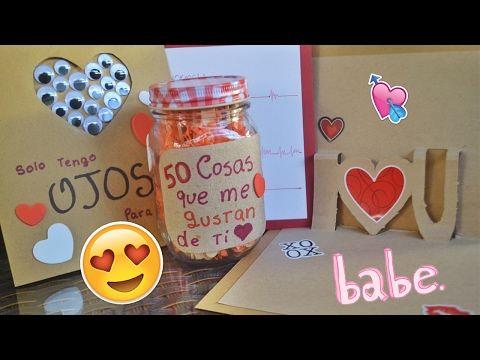 Regalos Para Mi Novio Hechos A Mano De Aniversario Re Regalos Fáciles Para San Valentín Regalos De San Valentín Para Hombres Regalos Para Novio Hechos A Mano
