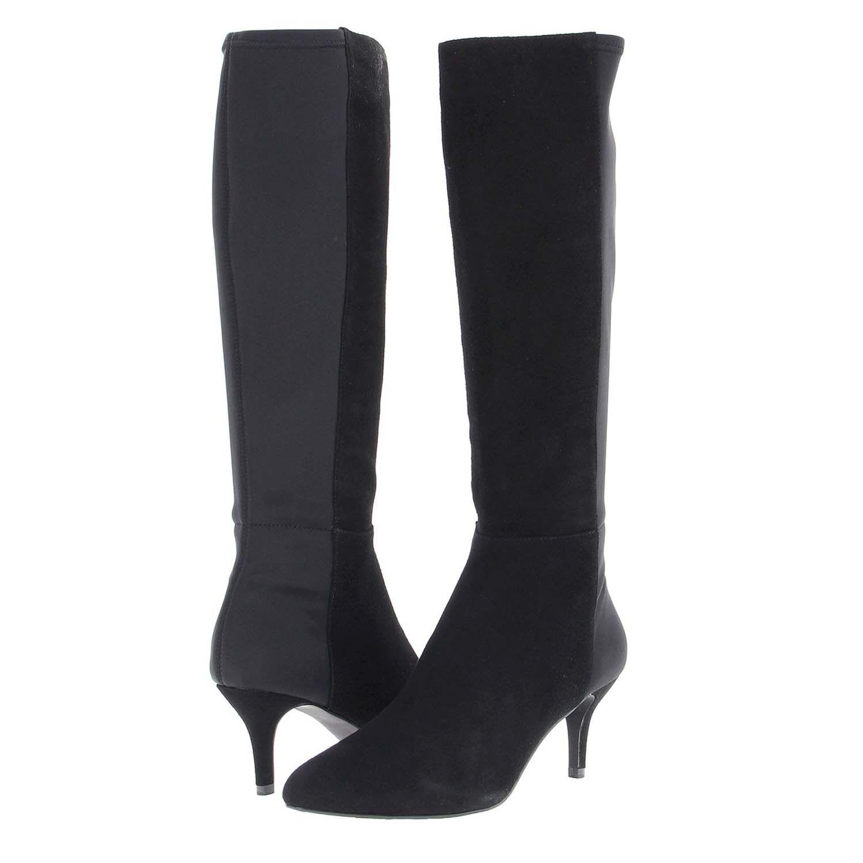 Bodycon dress knee high boots narrow calves los