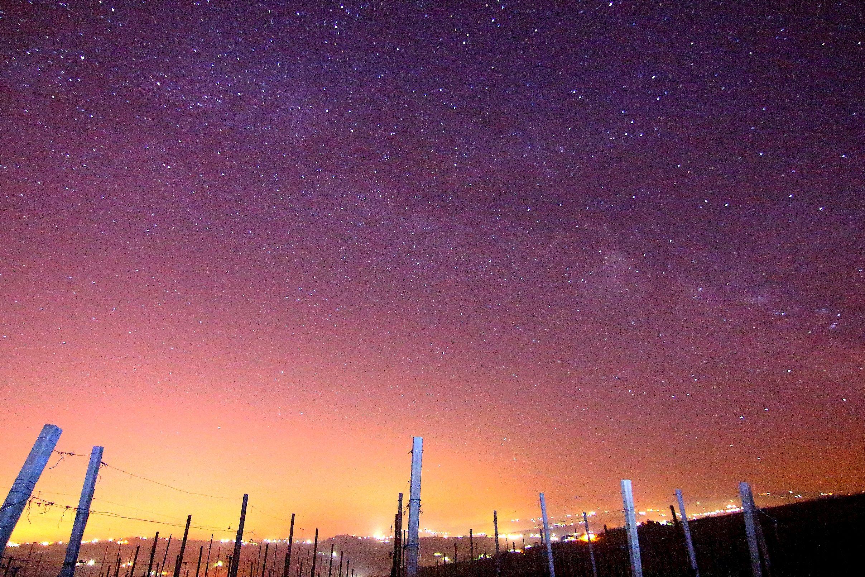 La Via Lattea illumina l'Oltrepò Pavese Via lattea