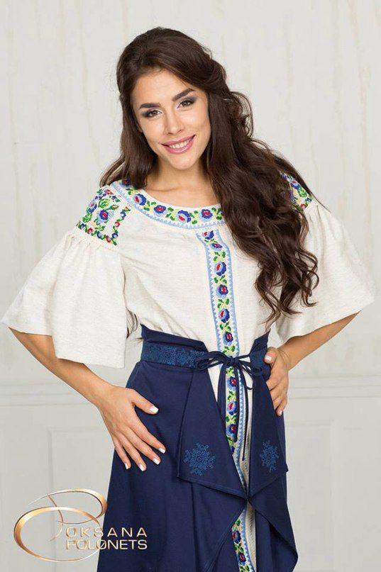 Сучасна українська вишиванка Жіноча Мода d97e44b41e545
