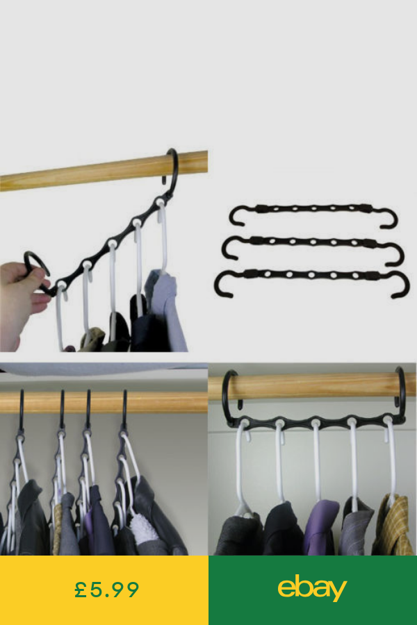 Coat Hangers Home Furniture Diy Ebay Space Saving Hangers
