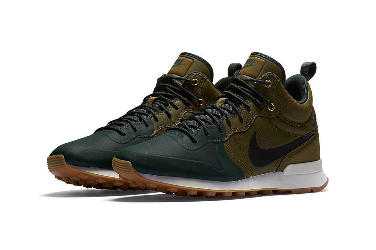 new products 39221 a464b Nike Internationalist Mid Utility Olive Flak Grove Green