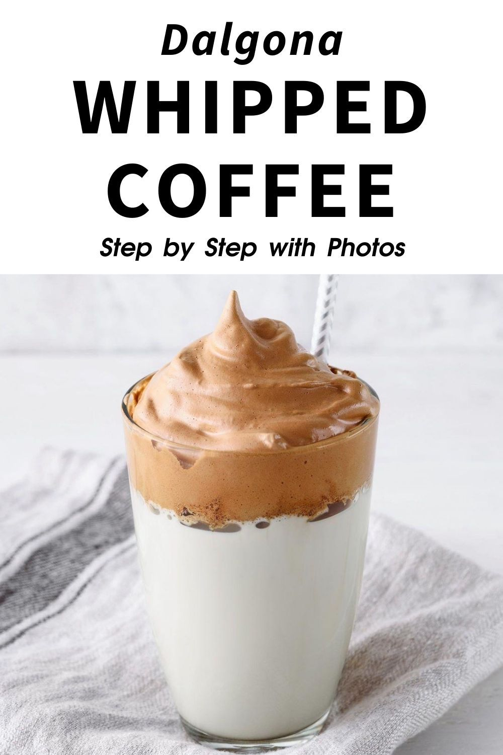 4-Ingredient Dalgona Whipped Coffee Recipe (Step-By-Step ...