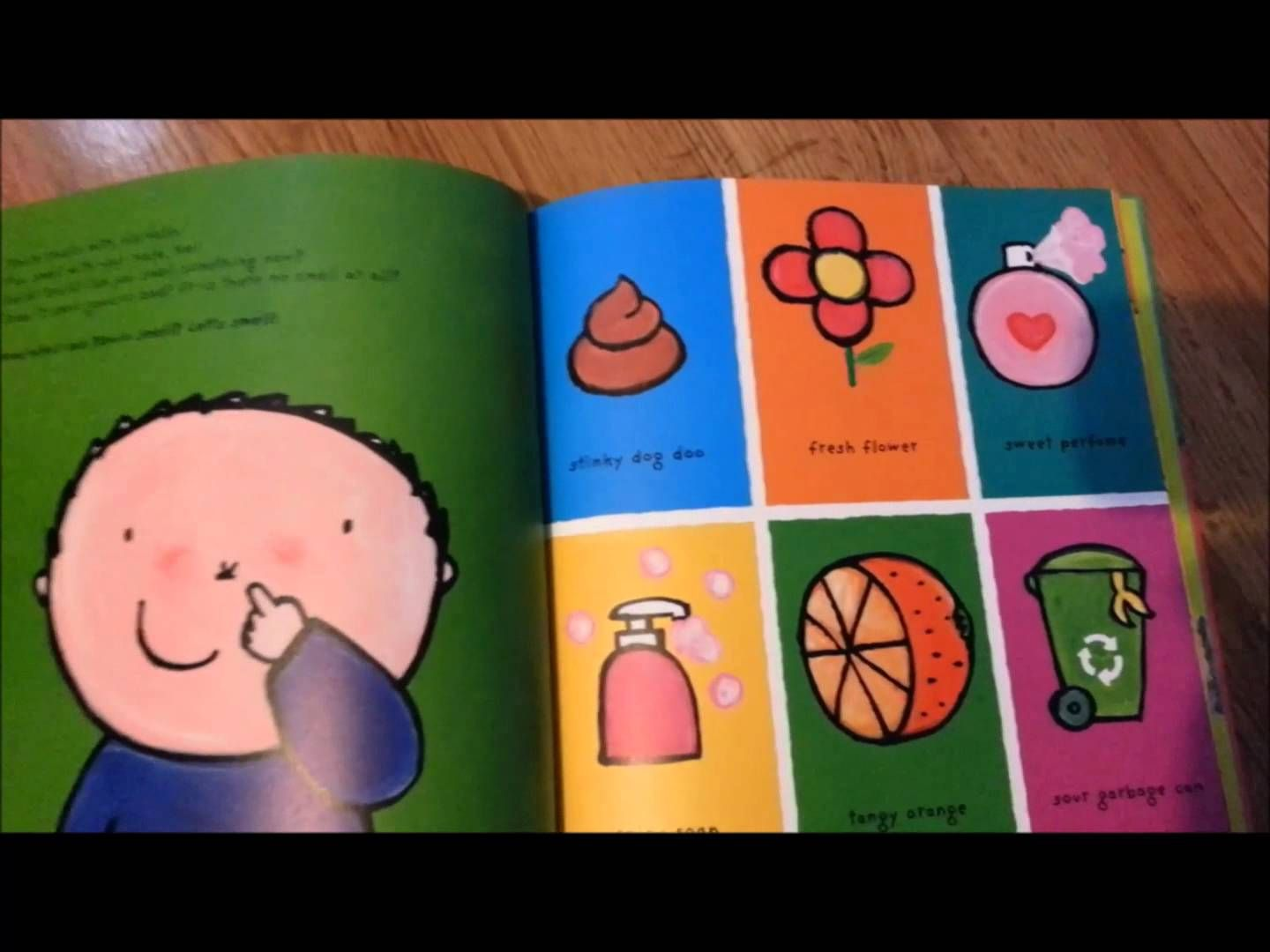 Kevin S Big Book Of The Five Senses With Images