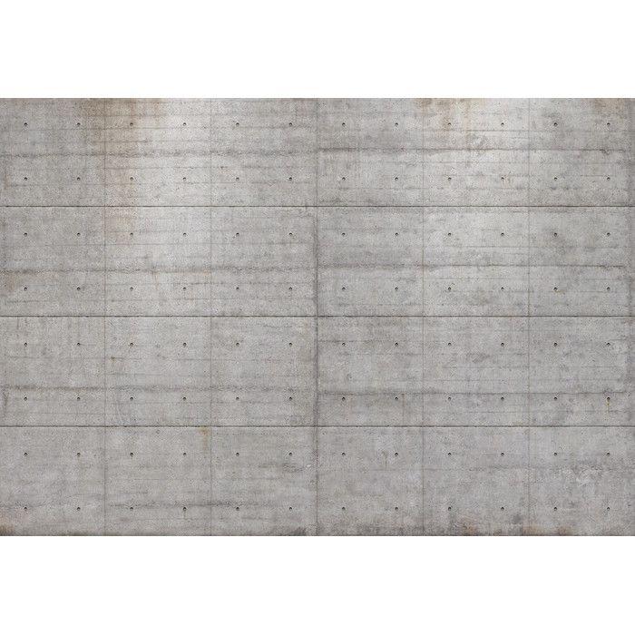 Komar Tapete Concrete Blocks 254 cm H x 368 cm B & Reviews von Komar | Wayfair.de