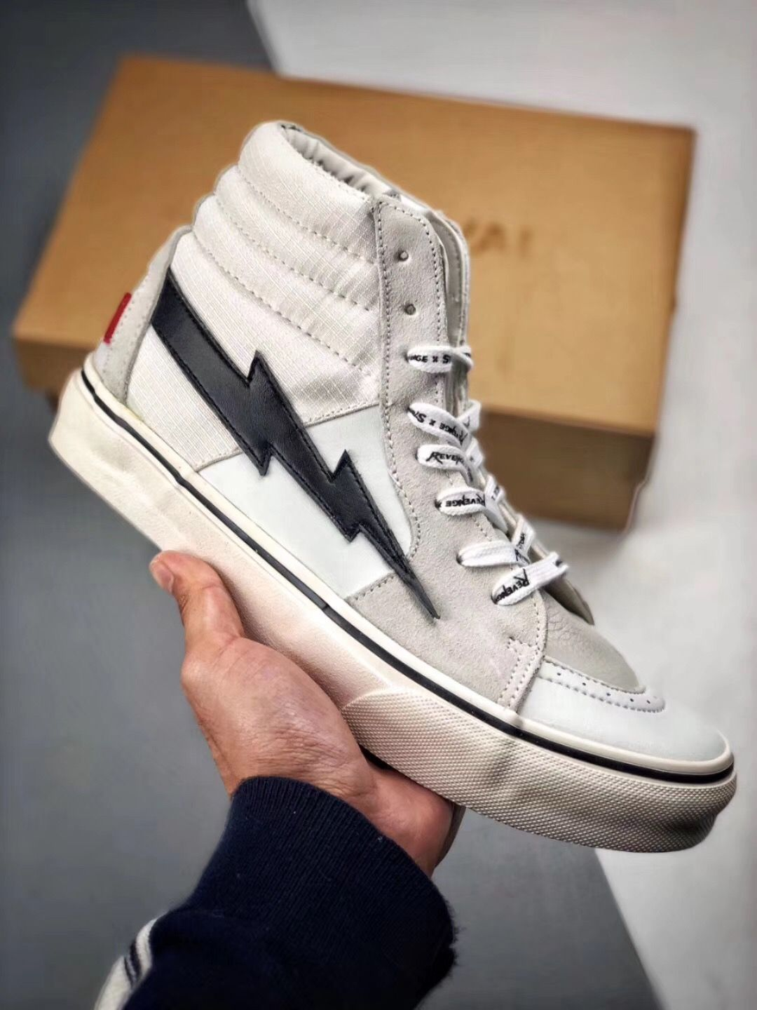 59db6d4a790 OFF-WHITE X Vans Sk8-Hi x Revenge Storm X the Remade | OFF-WHITE in 2019
