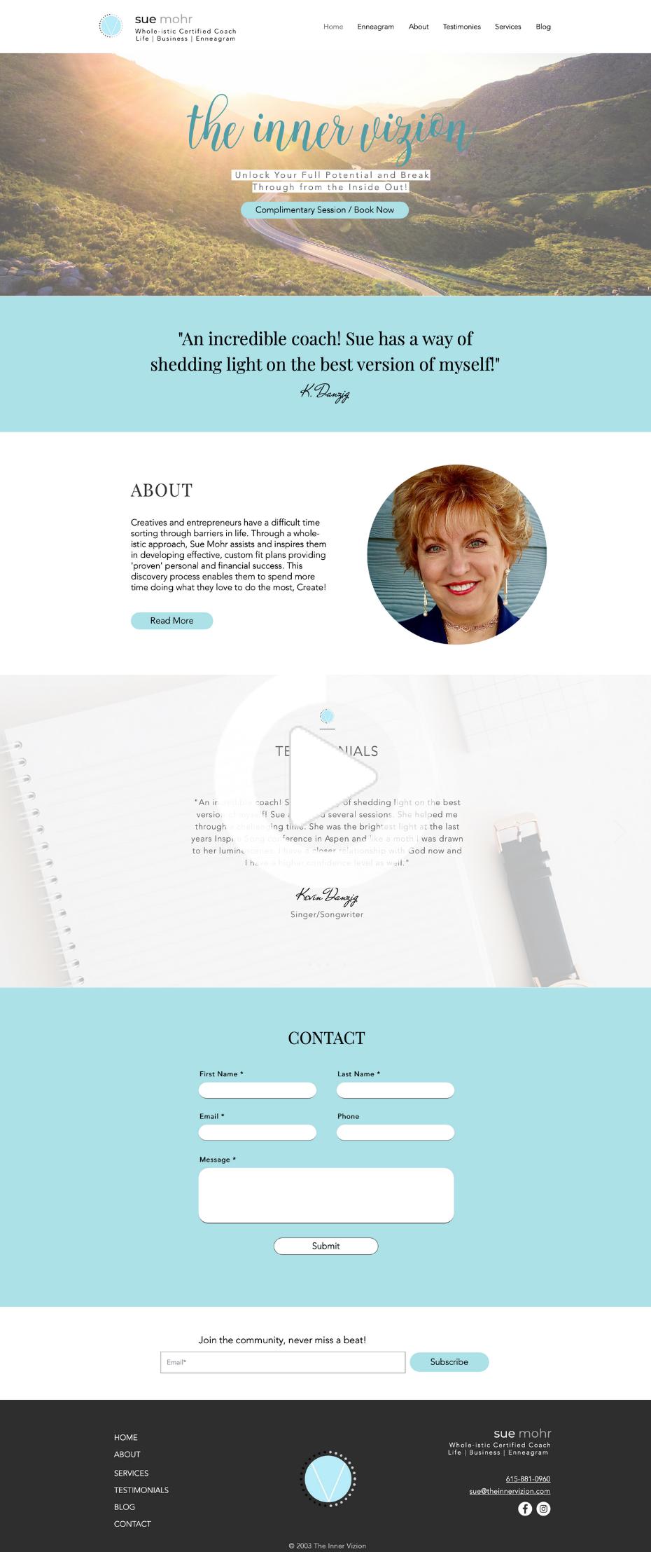 Web Design By Abigail Ann Minimal Web Design Portfolio Web Design Portfolio Website Design