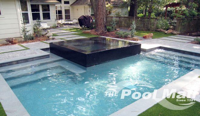 Houston Inground Spa Photos With Images Houston Pools Pool