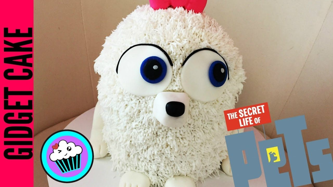 How To Make Gidget Secret Life Of Pets Cake Pinch Of Luck Dog