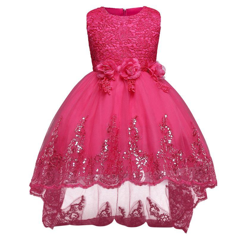 Adolescente Meninas Princesa Do Natal Vestido de Desgaste Do Partido ...