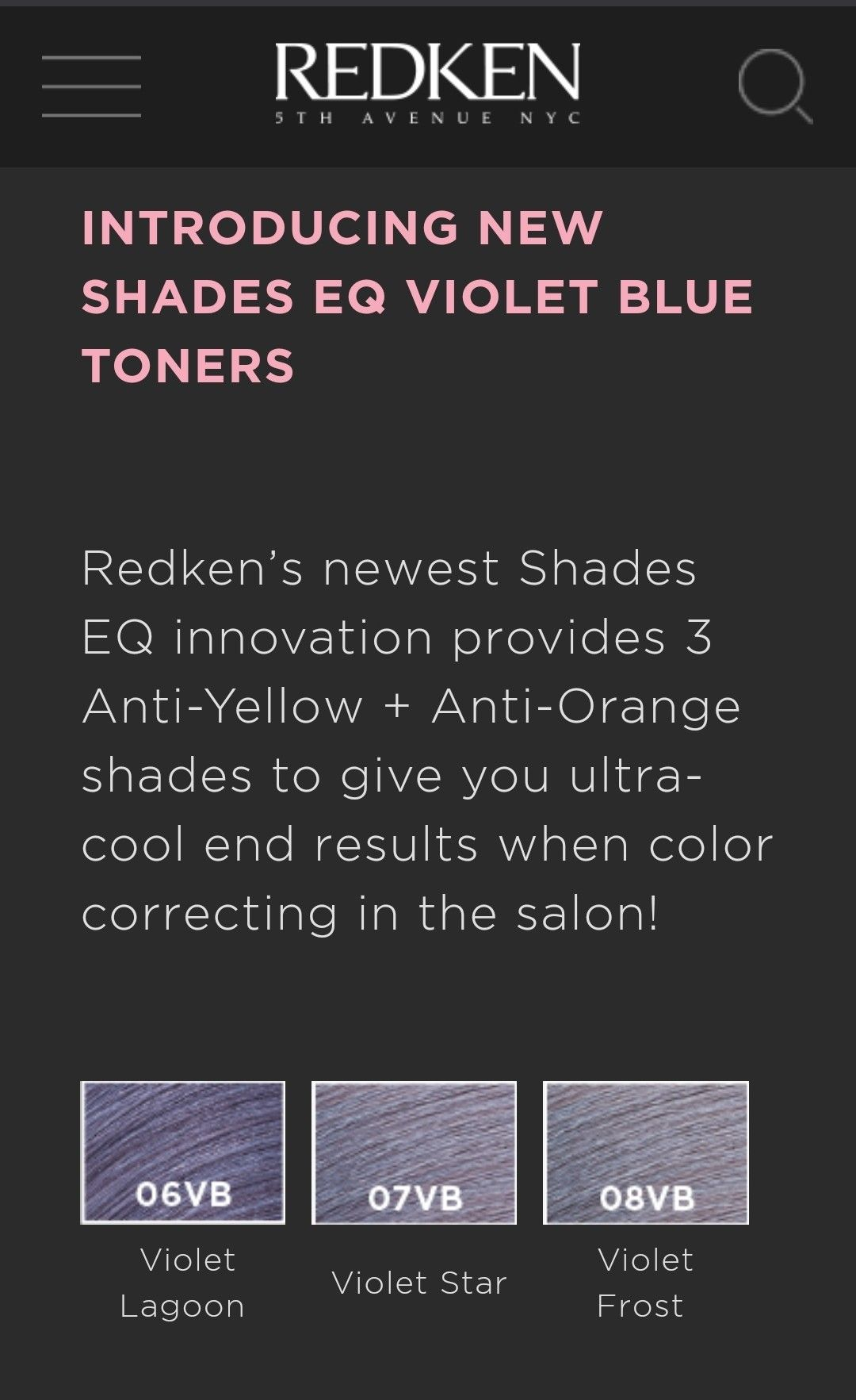 Pin By Lori Dalrymple On Hair In 2020 With Images Redken Toners Color Correction