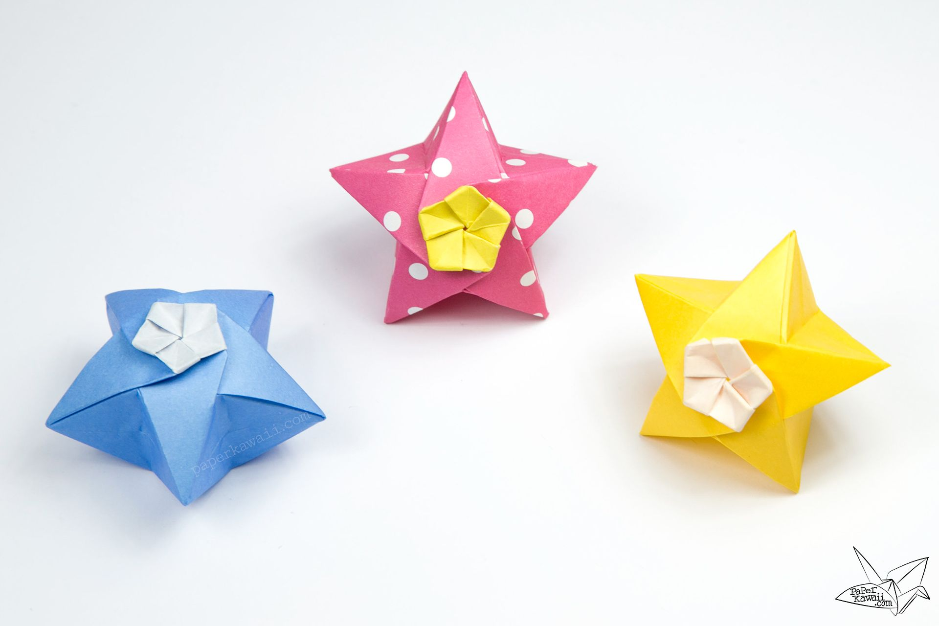 Origami Twinkle Star Tutorial - Puffy Stars ... - photo#28