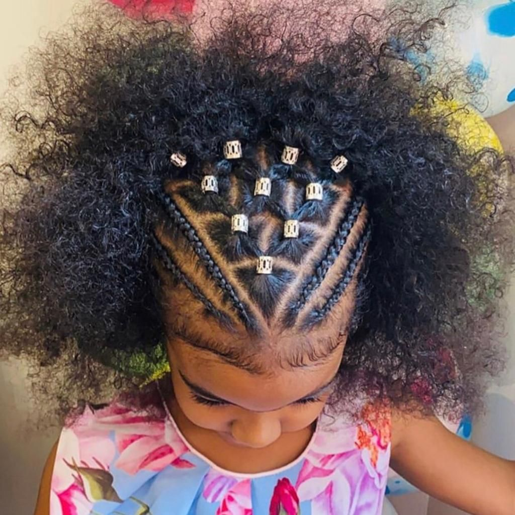 Beautiful Baby Cornrows Coiffure Fillette Cheveux De Petites Filles Coiffures Pour Enfant