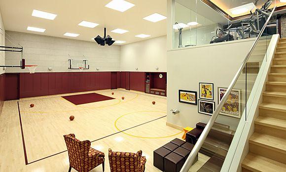 basketball court home design - Home Basketball Court Design