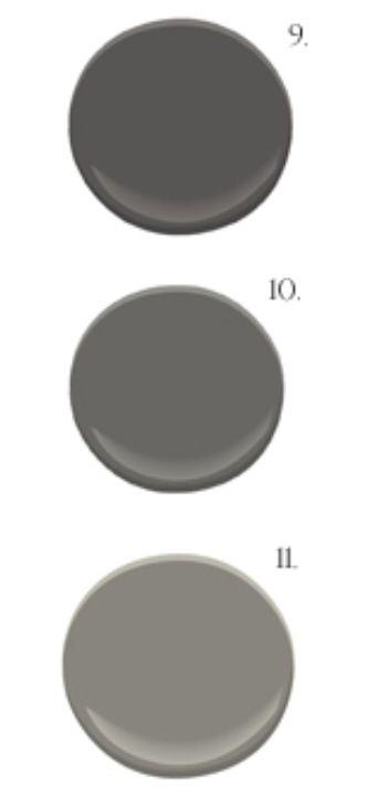 Benjamin Moore Wrought Iron Vs Iron Mountain : benjamin, moore, wrought, mountain, Mountain,, Kendall, Charcoal,, Chelsea, Benjamin, Moore…, Exterior, Paint, Colors, House,, Paint,