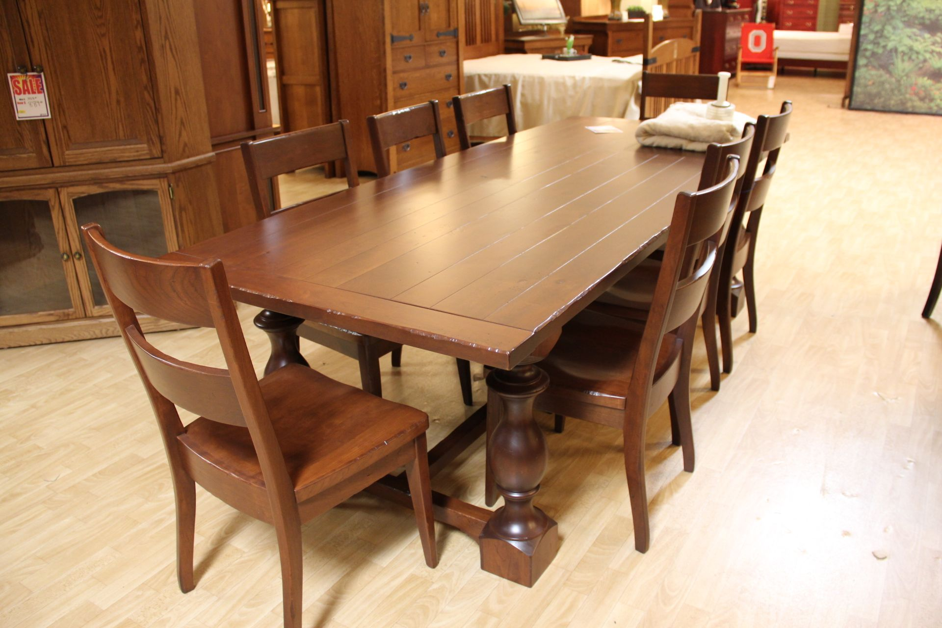 Solid Wood Table And Chairs Gallery Furniture Furniture Solid Wood Furniture
