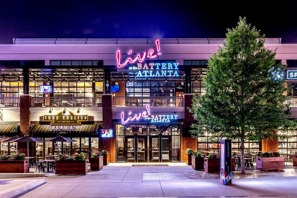 Live! at the Battery Atlanta I Hospitality Design by