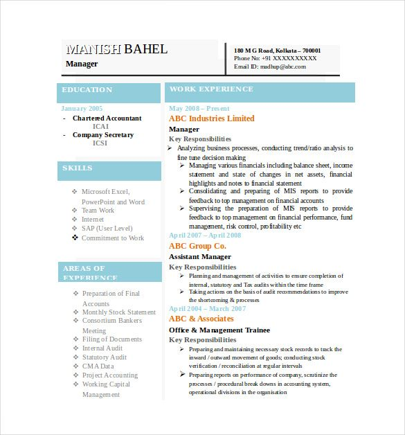 Best Resume Formats Free Samples Examples Format Download Sample