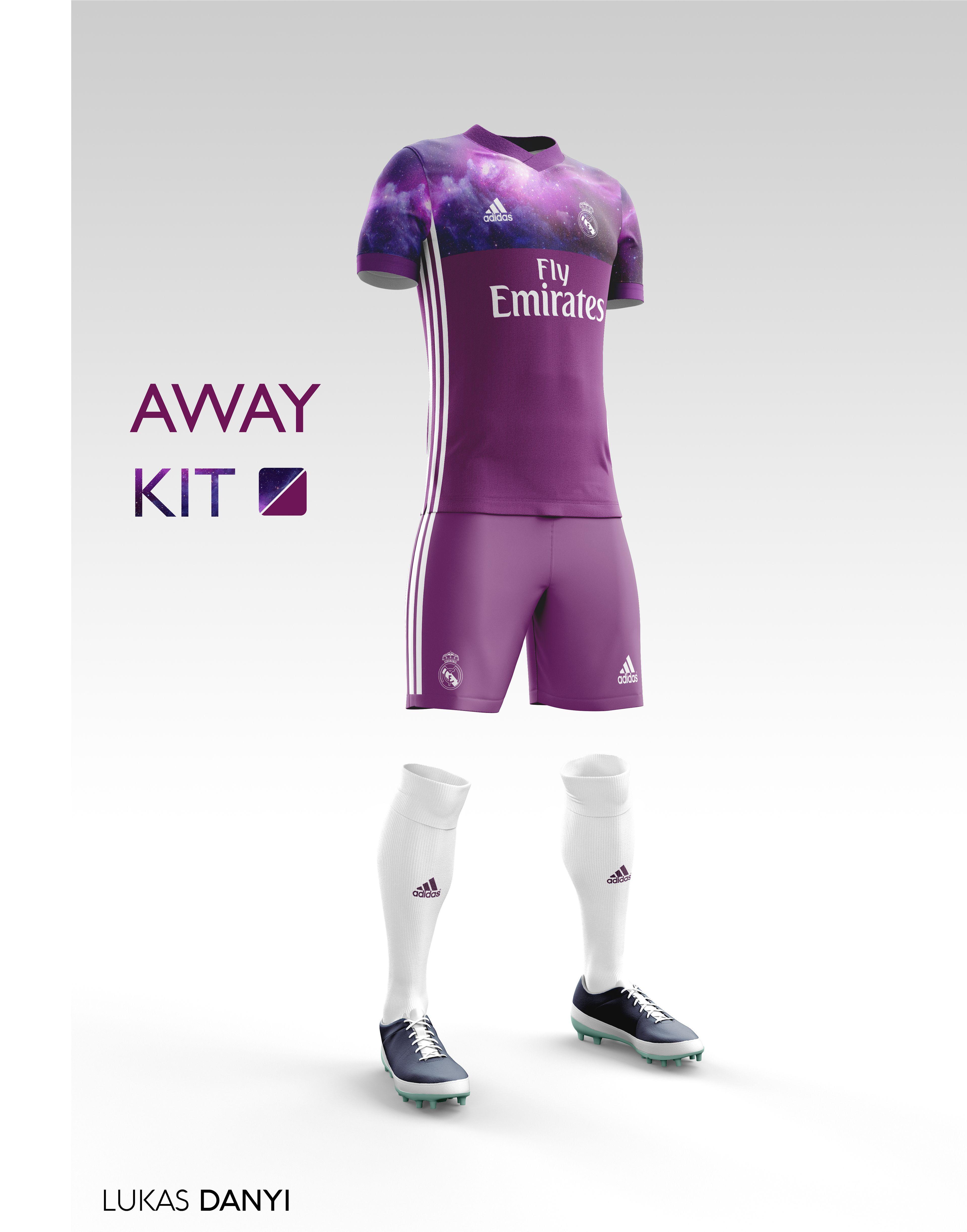 I designed football kits for Real Madrid CF for the upcoming season 16 17. e151da93efe