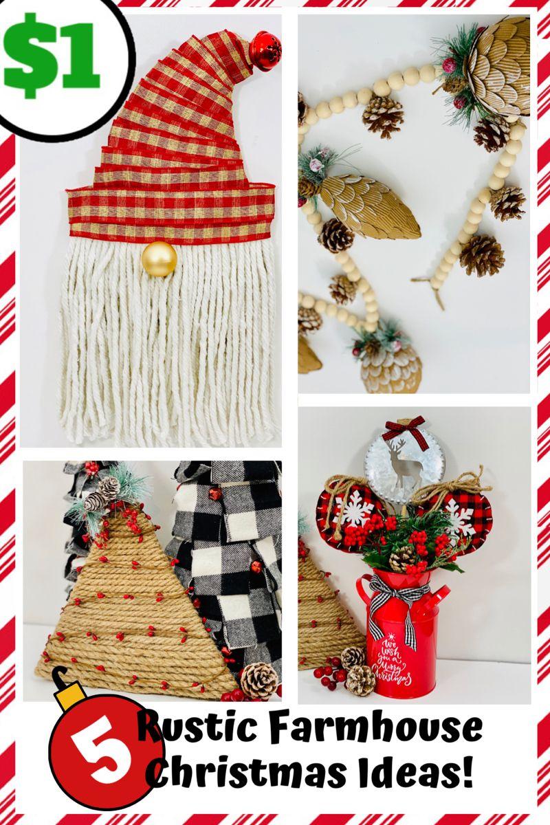 #dollartreediy #dollartreecrafts #rusticchristmas #christmasornaments #garland #rusticchristmastree #rusticfarmhouselivingroom #christmasdecordiy #gnome #quickandeasy