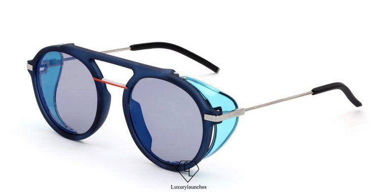 6617a82bacde FENDI FANTASTIC Blue AW 17 18 Runway sunglasses Code  FOG348V1QF1013  550.00