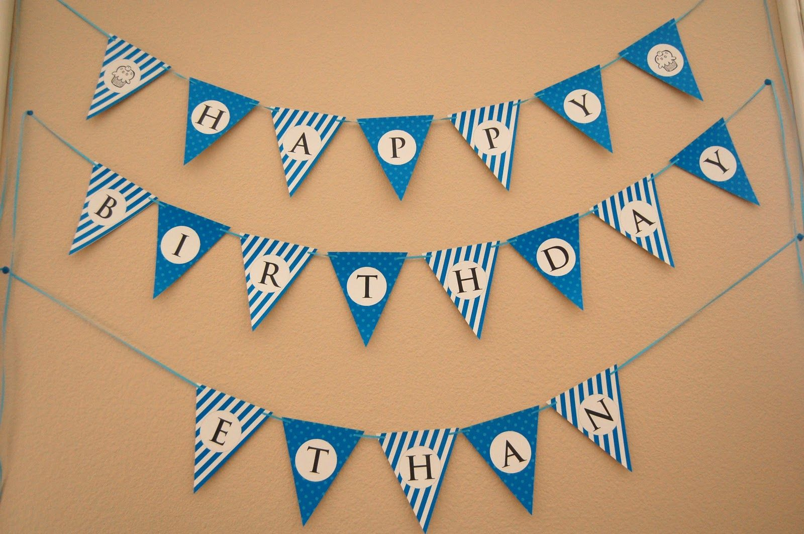 Free Printable Happy Birthday Bunting Banner Happy Birthday Banner Printable Free Happy Birthday Banner Printable Birthday Banner Free Printable