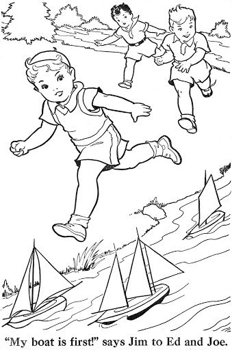 Coloring Book Blue Ribbon Coloring Books Vintage Coloring Books Free Kids Coloring Pages
