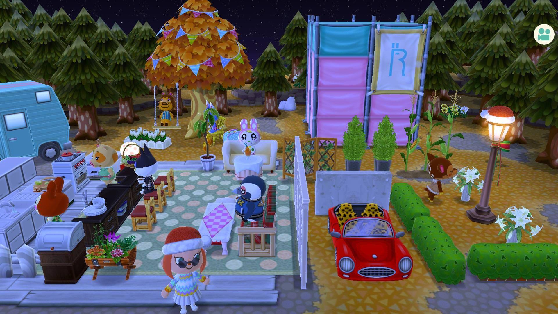 どうぶつの森 喫茶店 カフェ作りにオススメの家具とレイアウトがこれ