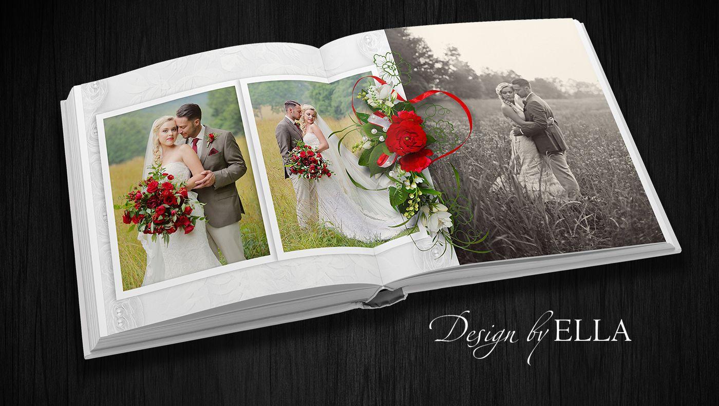 этой листы для свадебной фотокниги шаблоны очарование валентины