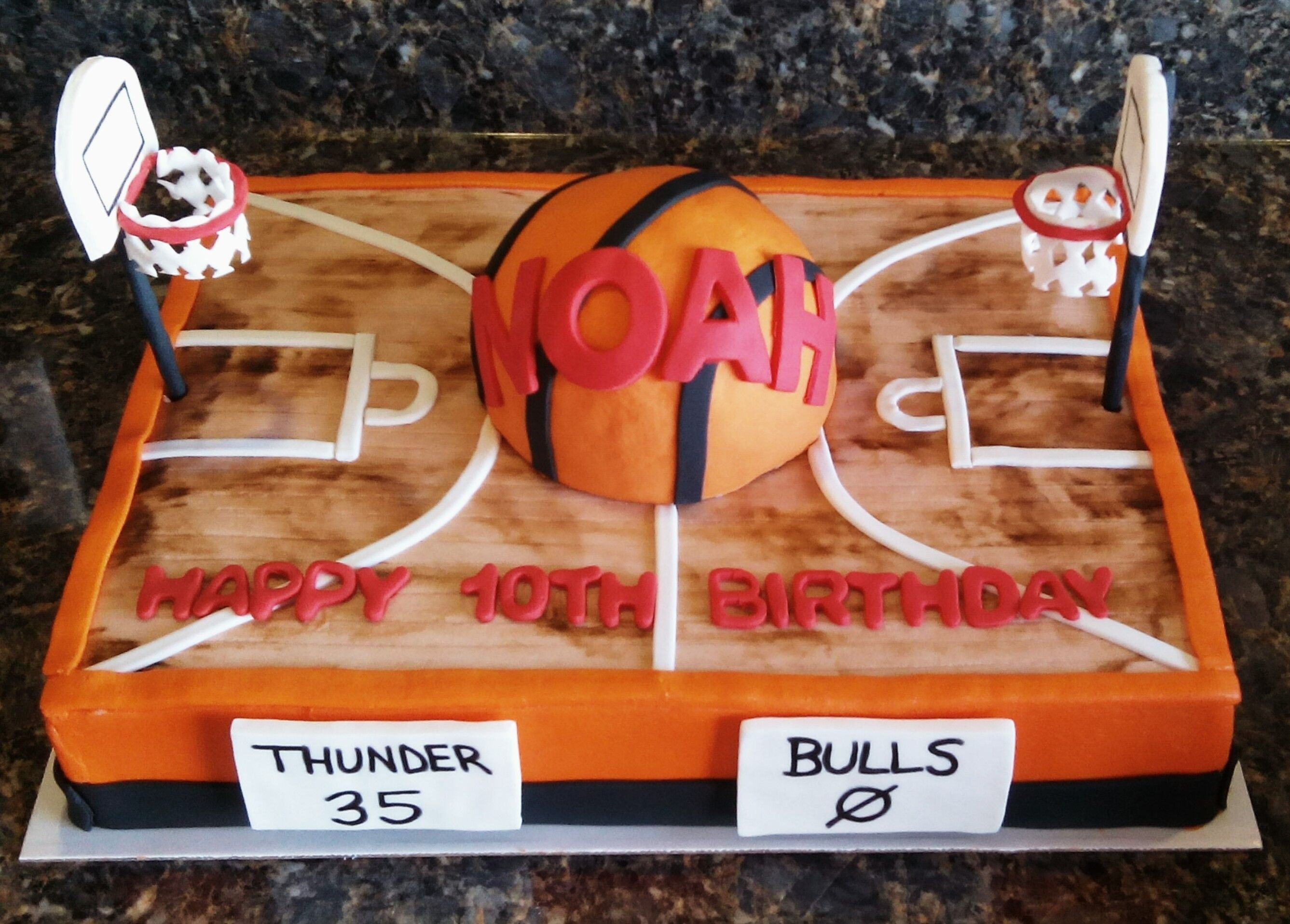 Cool Basketball Court Cake Eat Cake Icing Techniques Ball Birthday Funny Birthday Cards Online Kookostrdamsfinfo