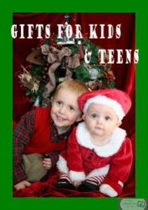 Gifts to Kids and Teens!  Find something for everyone on the list, even those hard to shop for someones!  #givingisfun  #christmasjoy