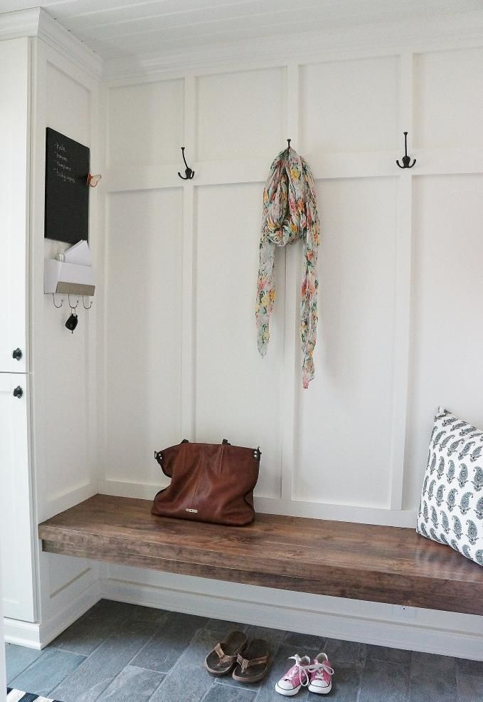10 Amazing Small Mudroom Storage Ideas | Pinterest | Bench, Woods And Walls