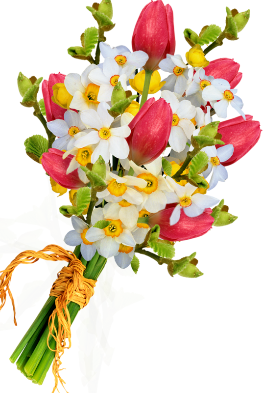Bouquet Of Flowers PNG Image Flores