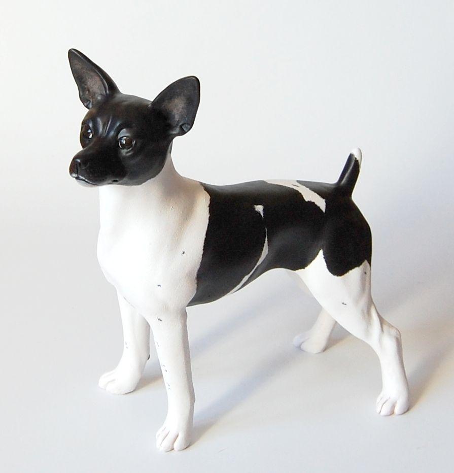 American Rat Terrier Sculpture Made By Art Studio Liplyandia Dog Breed Art Dog Artwork Figurative Artwork