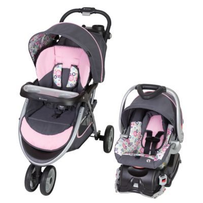d156ed3606f10 Baby Trend Skyview Travel System In Flora