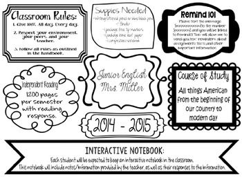 Syllabus Graphic Style Fully Editable Syllabus Template Syllabus Class Syllabus
