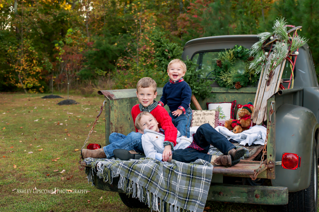 Old Country Christmas Vintage Truck Christmas Christmas Photoshoot Christmas Family Photos