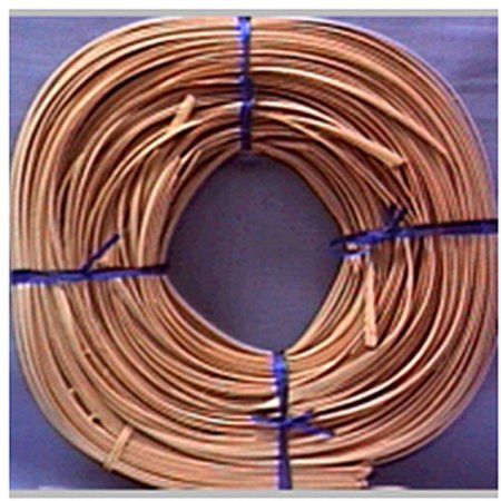Flat Oval Reed 1/4 inch 1 Pound Coil, Approximately 275', Beige