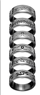 MORTAL INSTRUMENTS FAMILY RING MORGENSTERN HERONDALE LIGHTWOOD FAIRCHILD RING F