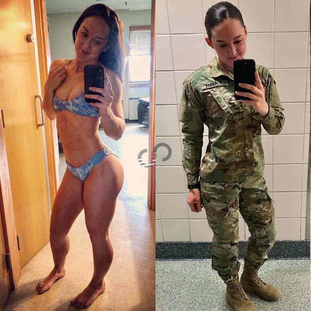 Slutty military girls