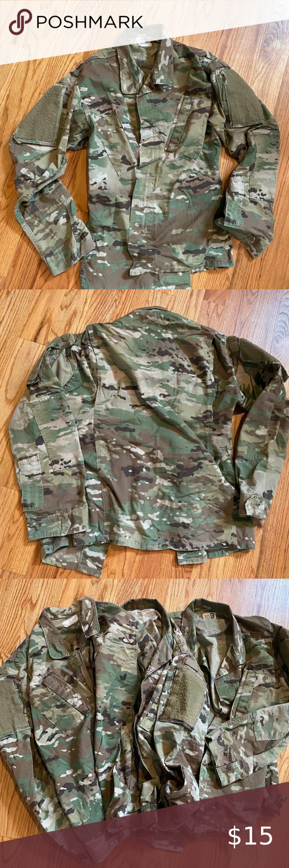 Army Ocp Camouflage Men S Blouse Small Regular Army Ocp Camouflage Men S Blouse Shirt Size Small Regular Shirts Are In G In 2020 Army Jacket Shirt Blouses Shirt Size