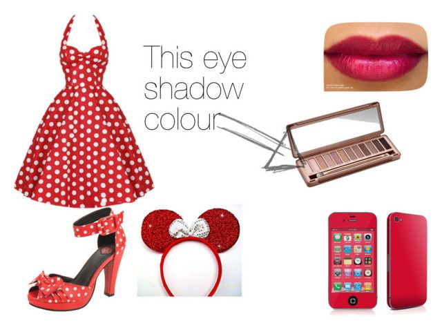 """Disney Dream"" by bubblybrownie ❤ liked on Polyvore featuring T.U.K. and Urban Decay"