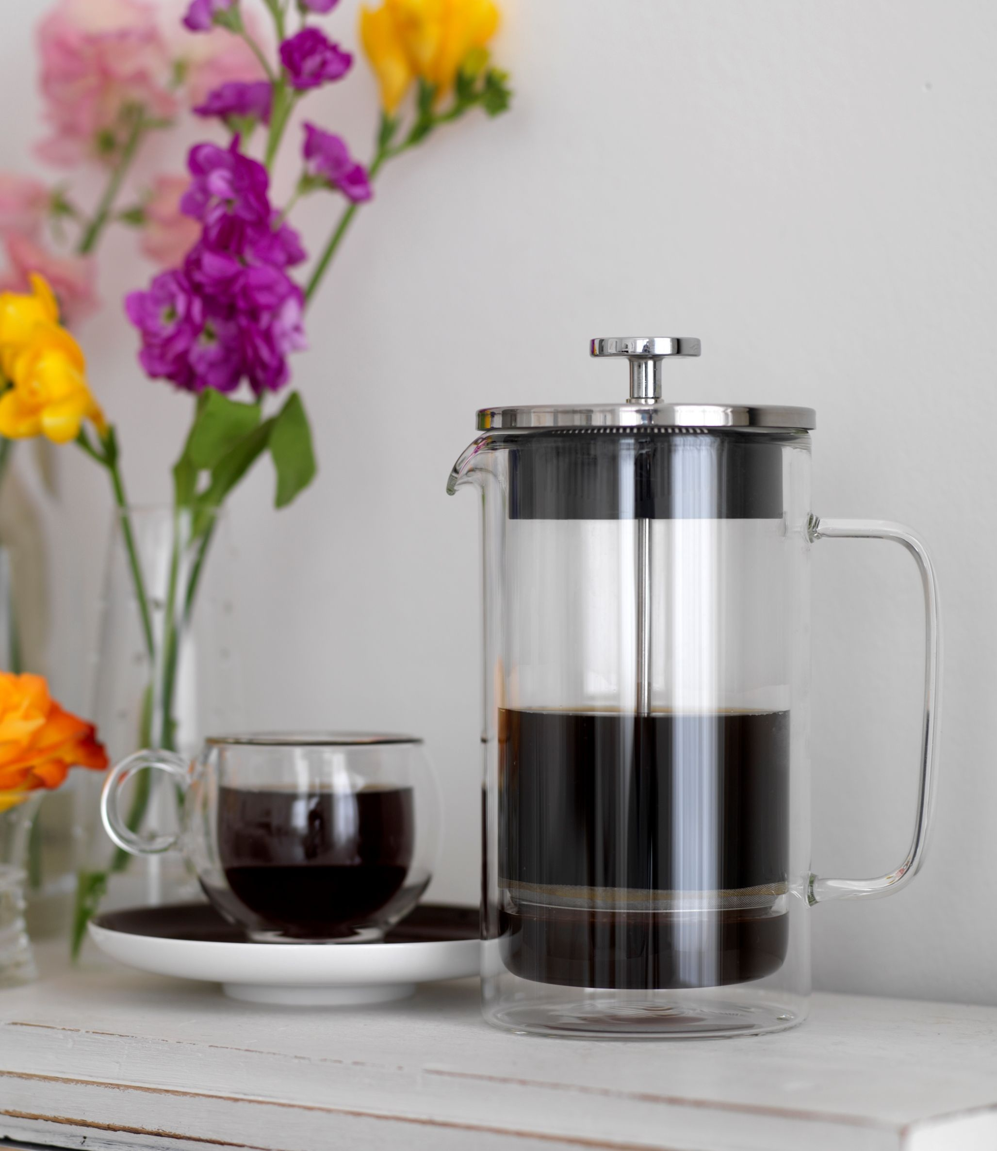 French coffee press from la cafetiere coffee french