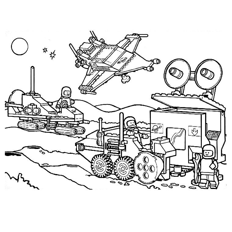 Lego Star Wars Coloring Pages - Best Coloring Pages For Kids | 760x760