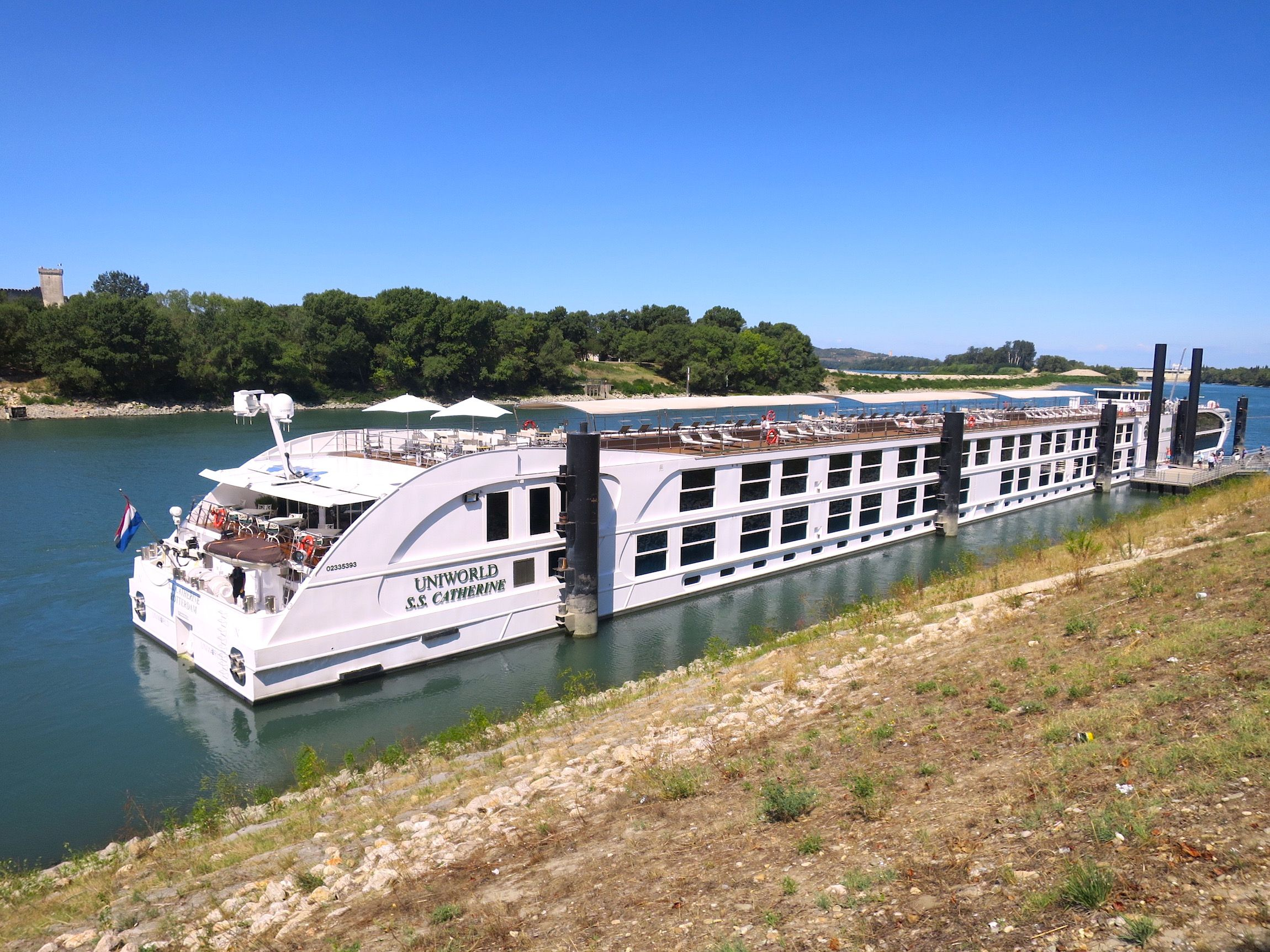 Cruising The Rhone River In Provence On Uniworlds SS Catherine - Ss catherine