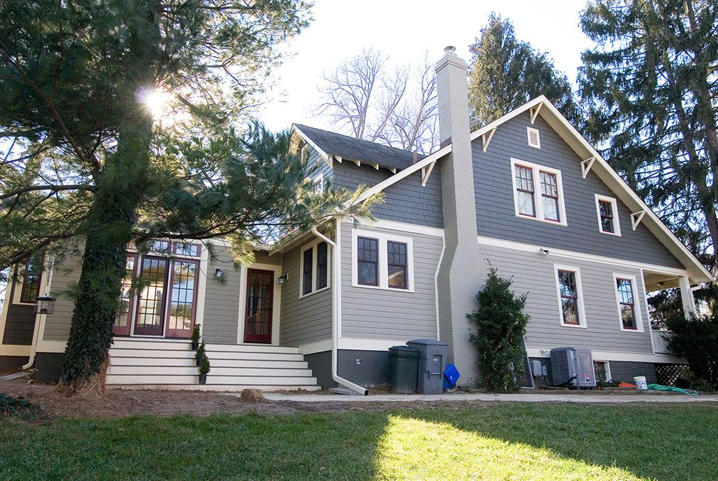 S Craftsman Style Bungalow Remodel Old Dominion Building - Bungalow house addition ideas