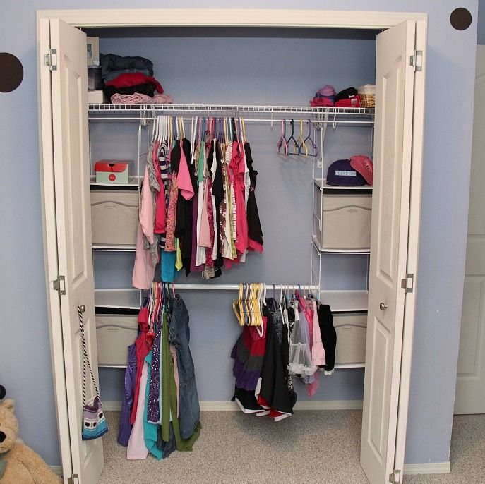10 images about closet ideas on PinterestCloset organization