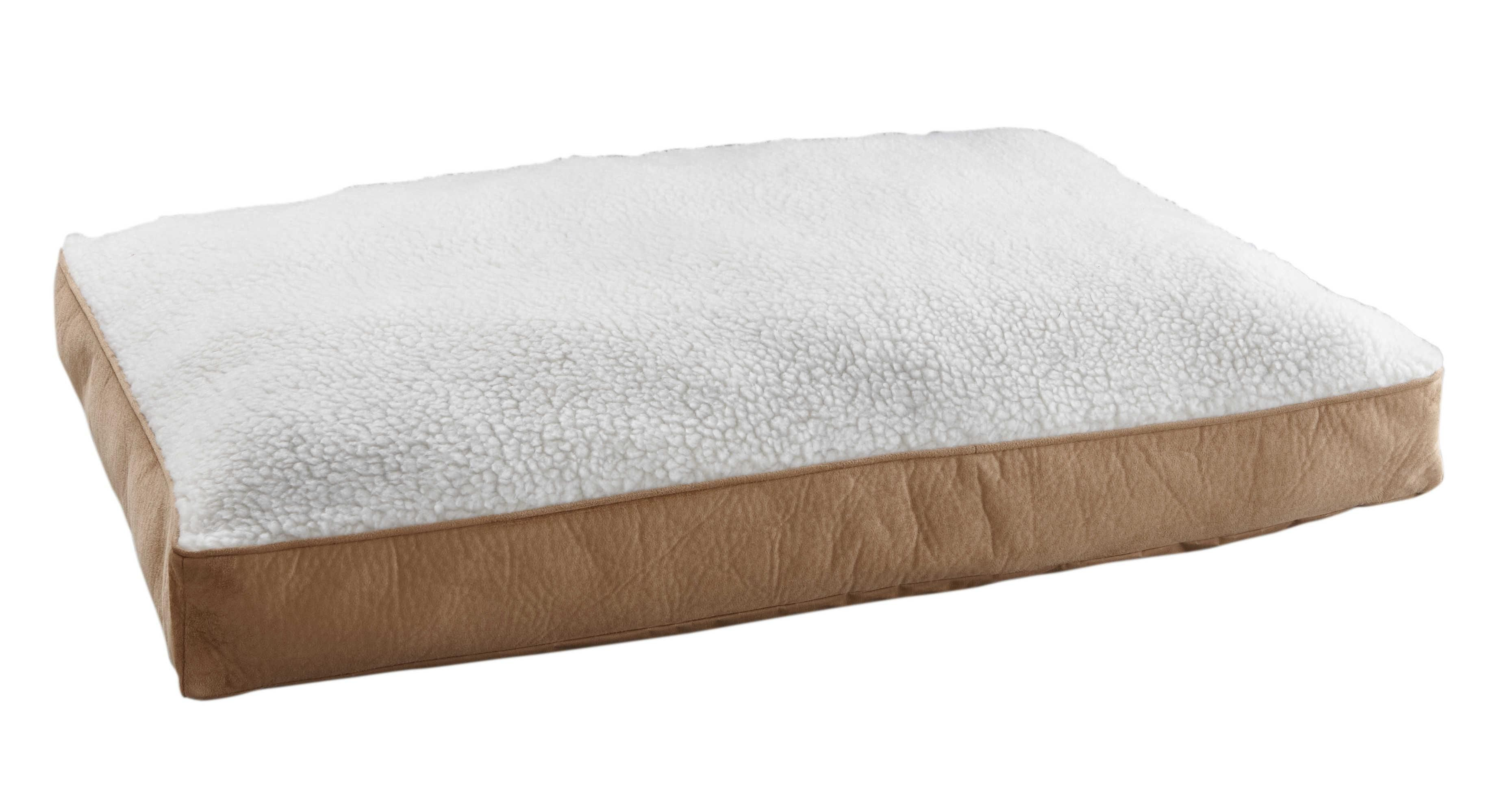 37 AmazonSmile : Animal Planet Sherpa Pet Bed, Large : Animal Planet Dog Bed : Pet Supplies